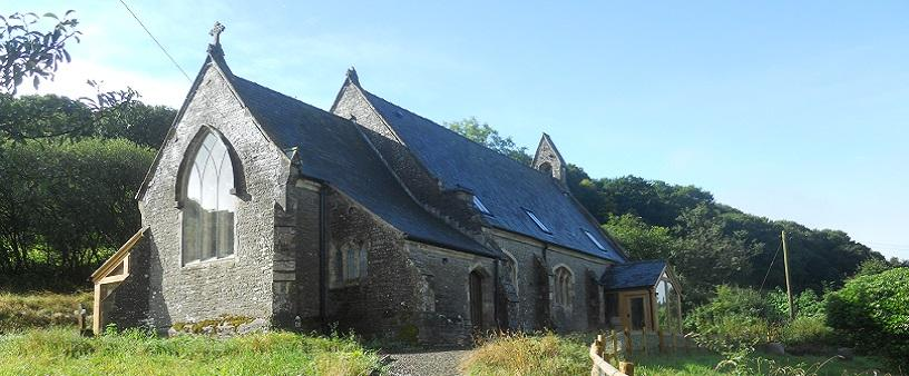 Church conversion in Powys, Wales