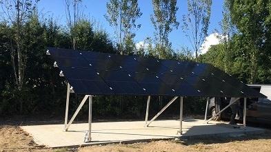 507 solar installation