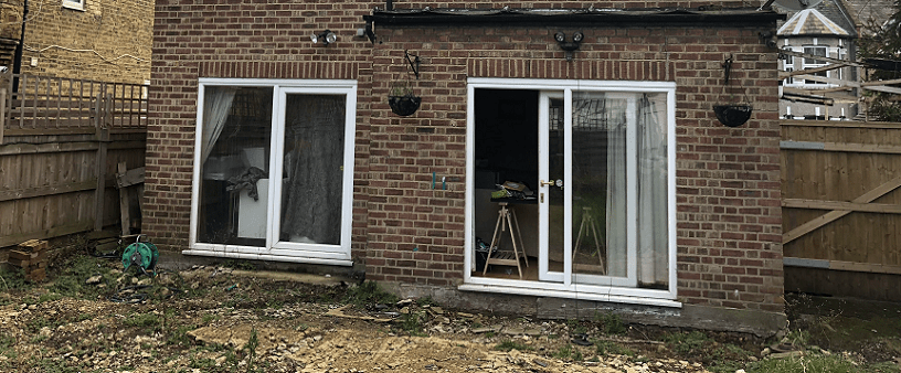 Screw Pile Solution – House Extension in Chingford