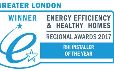 Ground Sun wins 'RHI Installer of the Year 2017' award!