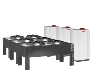HIGH CAPACITY AIR SOURCE HEAT PUMPS FOR OLD BUILDINGS