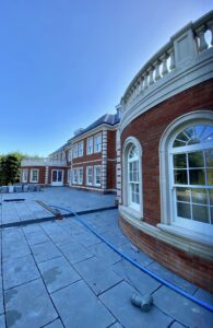 Sustainable Vision 0 1500m2 London Residence heated by renewable heat pumps